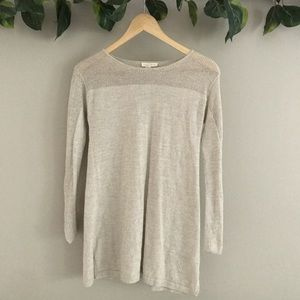 Eileen Fisher | 100% Wool Knitted Pullover Top